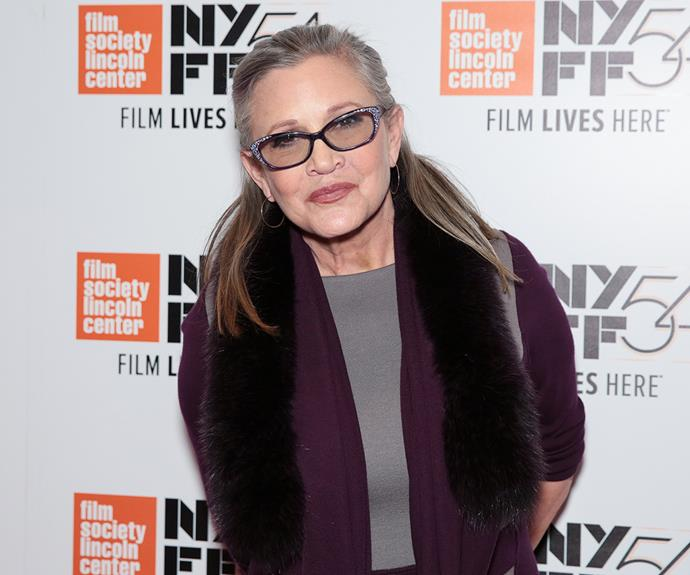 Carrie Fisher dies aged 60, following heart attack