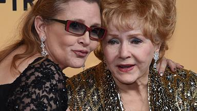 Carrie Fisher's mother Debbie Reynolds rushed to hospital after suffering a suspected stroke