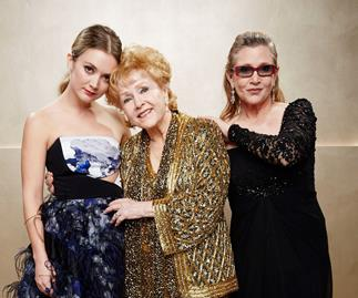 Billie Lourd's tribute to Carrie Fisher and Debbie Reynolds
