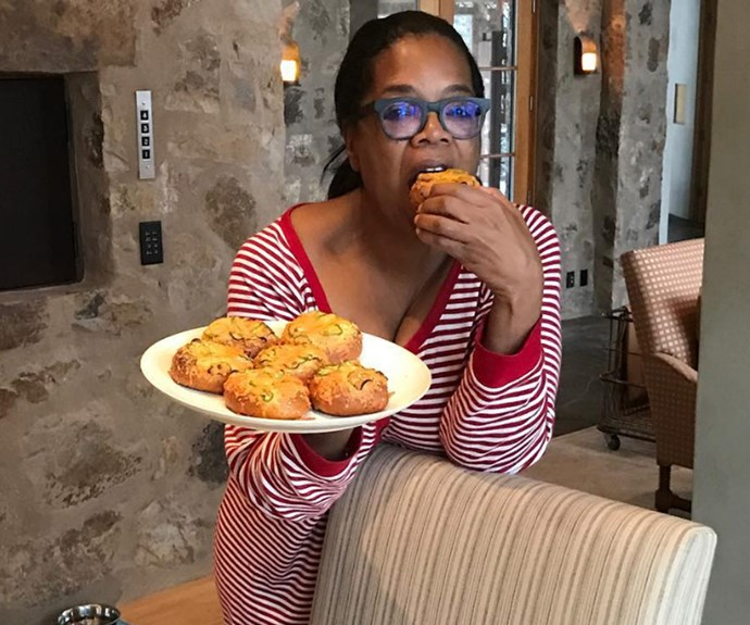 Oprah reveals her version of a 'sexy breakfast'