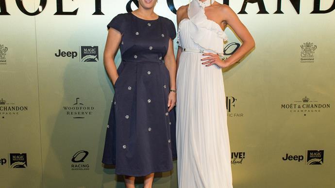 Zara Tindall and Jesinta Franklin