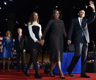 The special meaning behind Michelle Obama's dress for the Farewell Address, revealed