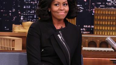 Michelle Obama's emotional goodbye