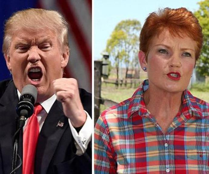 Pauline Hanson has been invited to Trump's Inauguration