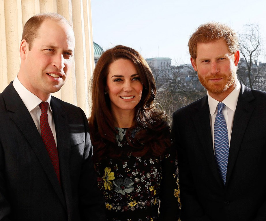 The royal trio are hoping to break down the stigma that surrounds mental illness.