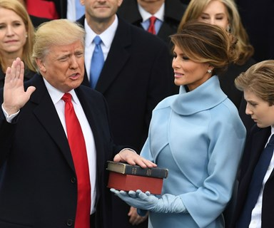 All the highlights from Donald Trump's inauguration as U.S. president