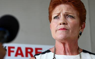 Everything that's wrong with Pauline Hanson fat-shaming Women's March comments