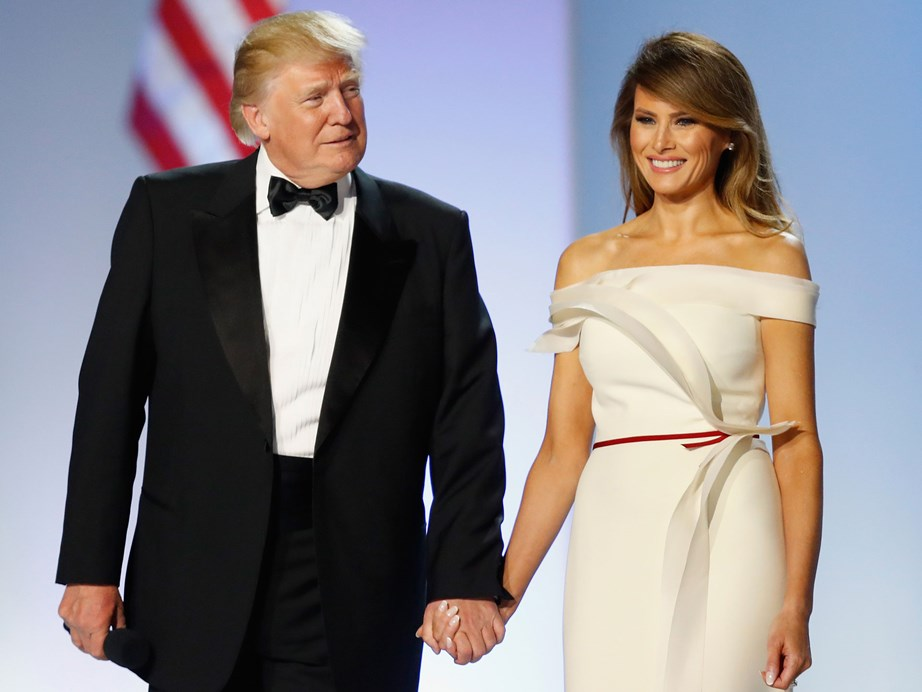 Slovenia-born Melania rose from model to First Lady when her husband, Donald, became the President in 2016.