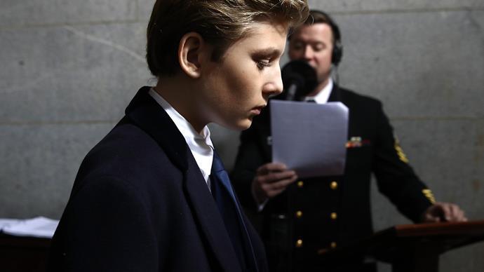 "Chelsea Clinton's impassioned plea for Barron Trump – he ""deserves to be a kid"""