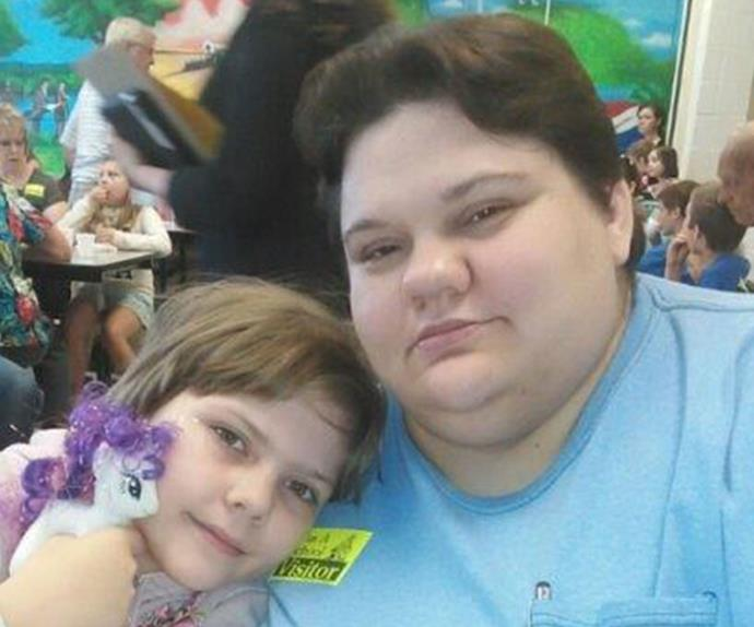 Jennifer Knapp Wilkinson with her daughter