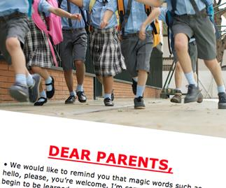 School note directed at parents goes viral