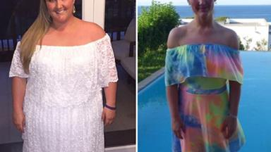 Woman loses more than half her body weight in 12 months