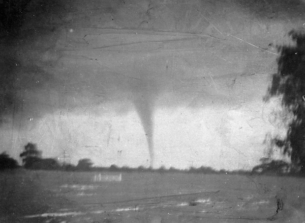 On This Day In History: First Picture Of A Tornado In
