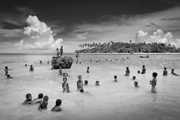More of a textured effect is achieved in black and white when compared with the colour version below credit nick rains