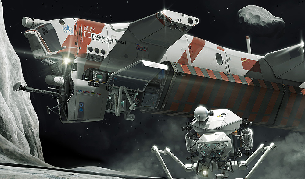 Asteroid miners prepare to harvest outer space - PRX |Mine From Outer Space