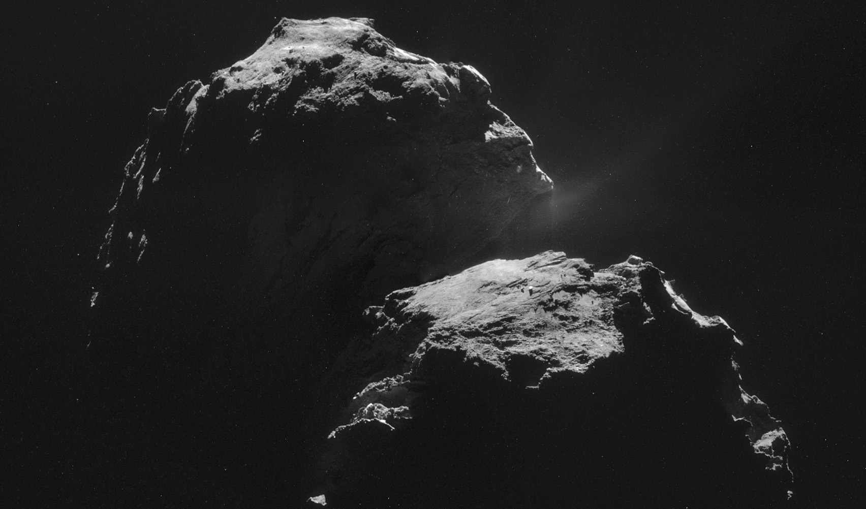 World history as probe lands on comet - Australian Geographic