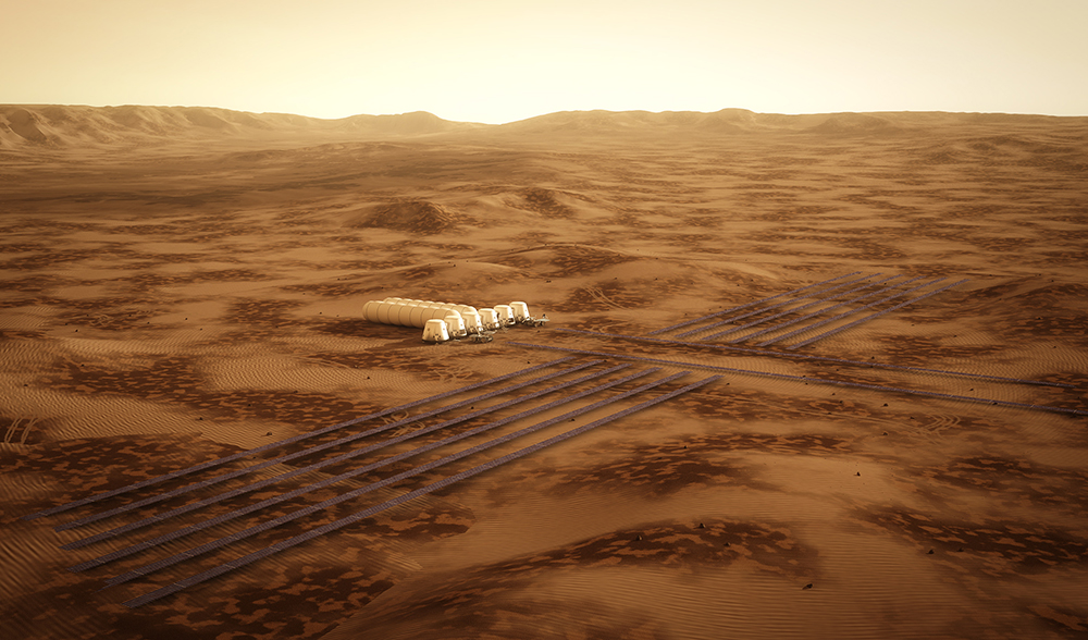solar power mission to mars - photo #19
