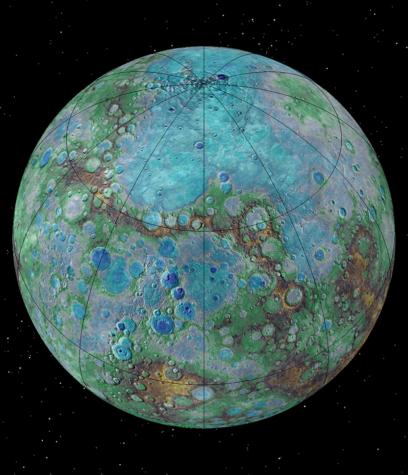 New high resolution images reveal Mercury is tectonically ...