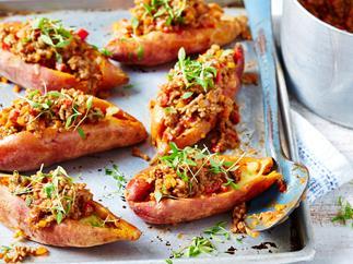 Sweet potato sloppy joes