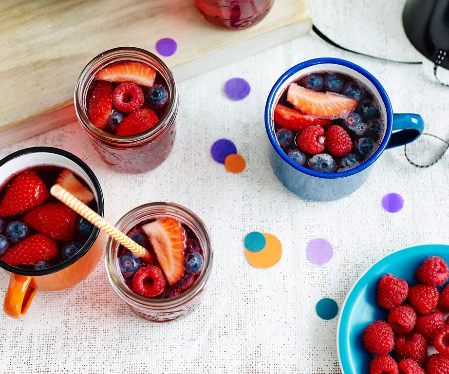 "[**Witches' brew**](https://www.womensweeklyfood.com.au/recipes/witches-brew-29148|target=""_blank"") <br><br> Witches' brew is a non-alcoholic fruit punch traditionally made at Halloween inspired by the mysterious, bubbling, and chunky potions brewed in a witch's cauldron. Our version uses blackcurrant and mixed berries - but let your imagination run wild!"