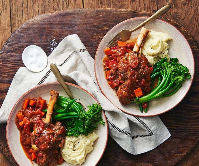 "**[Slow-cooker lamb shanks](https://www.womensweeklyfood.com.au/recipes/slow-cooker-lamb-shanks-15596|target=""_blank"")**  There's a reason lamb shanks are among the [best cuts of meat for your slow-cooker](https://www.womensweeklyfood.com.au/best-meat-cuts-slow-cooker-roast-stir-fry-bbq-1357