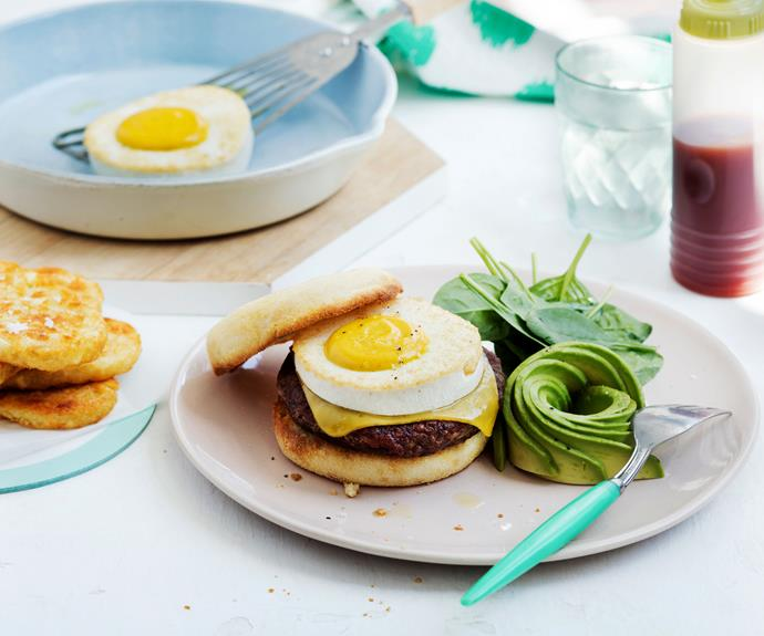 "**[Vegan sausage and egg mock muffin](https://www.womensweeklyfood.com.au/recipes/vegan-sausage-and-egg-muffin-30819|target=""_blank"")**  A delicious [vegan](https://www.womensweeklyfood.com.au/tags/vegan