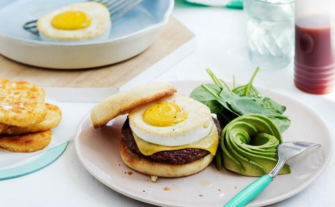sausage and egg mock muffin
