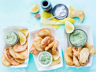 beer battered potato scallops