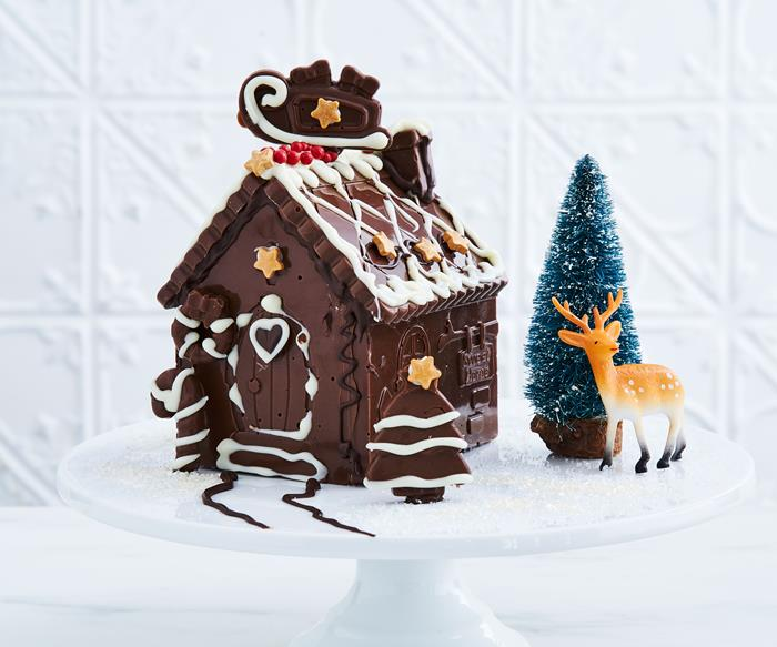 christmas mini chocolate house