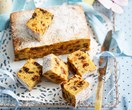 Boiled passionfruit cake