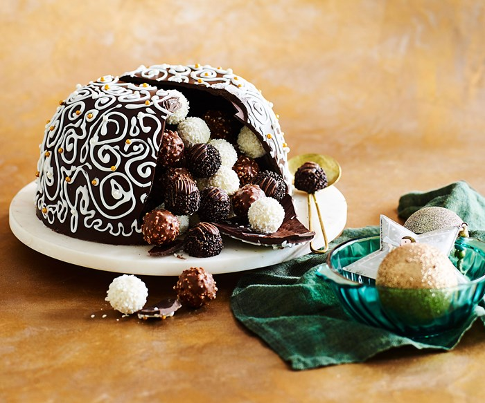 Christmas Smash Cake