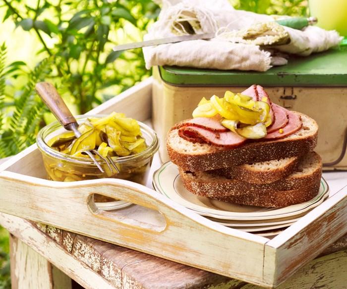 bread & butter pickles recipe