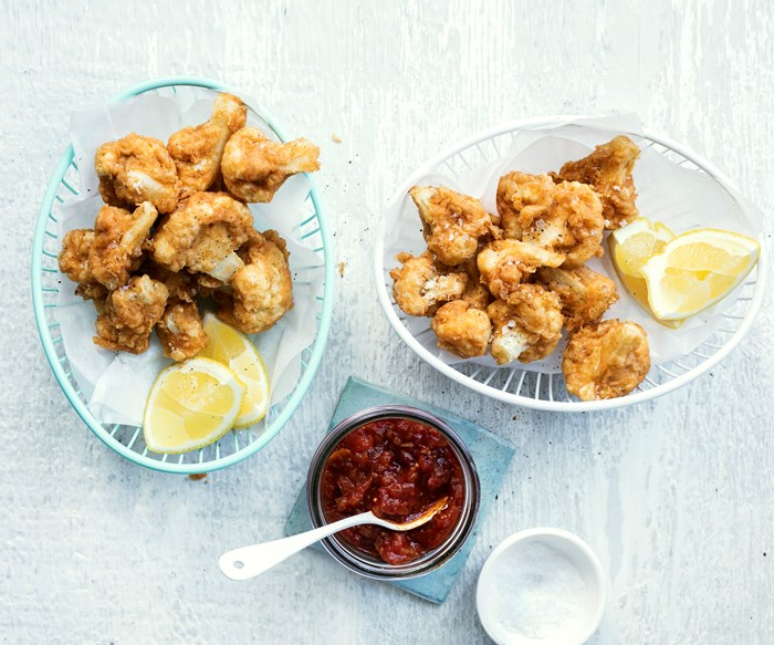 popcorn cauliflower wings recipe