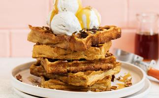 vegan waffles recipe