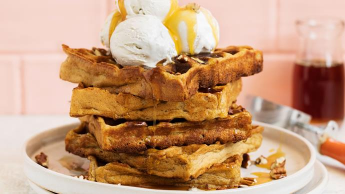 vegan waffles recipe