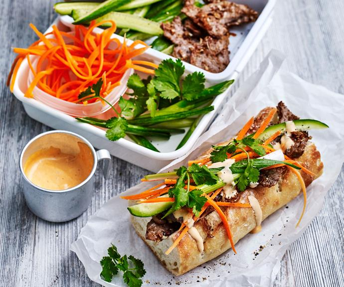 """Refreshing and tasty [Vietnamese bahn mi rolls](https://www.womensweeklyfood.com.au/recipes/beef-bahn-mi-recipe-30923