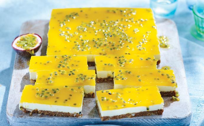 Easy cheesecake slices