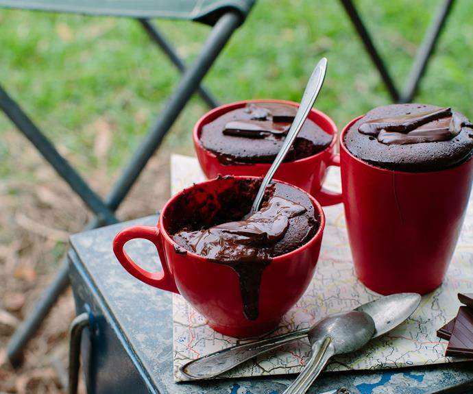 "These decadent [chocolate nutella mug puddings](https://www.womensweeklyfood.com.au/recipes/chocolate-nutella-mug-puddings-28899|target=""_blank"") are the ultimate dessert for all the sweet tooth's out there! Easy to prepare and irresistibly delicious!"