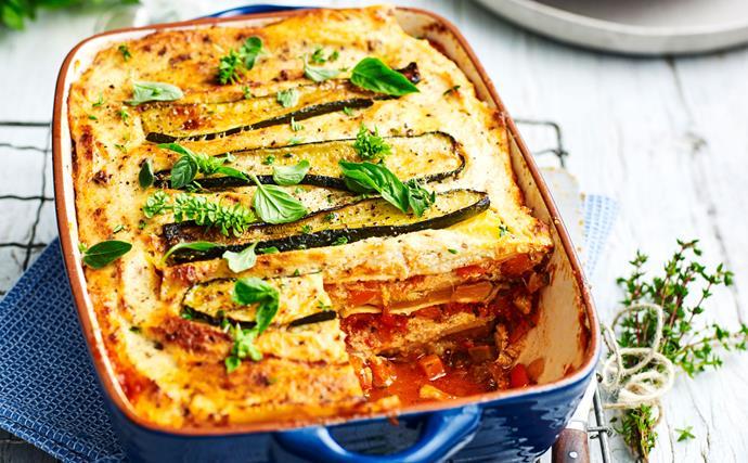 Vegetarian lasagne recipes