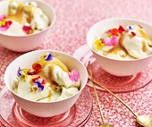 Banana, coconut & rosemary nice-cream