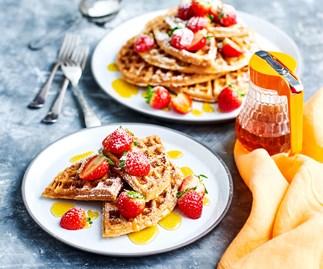 Buckwheat waffles recipe