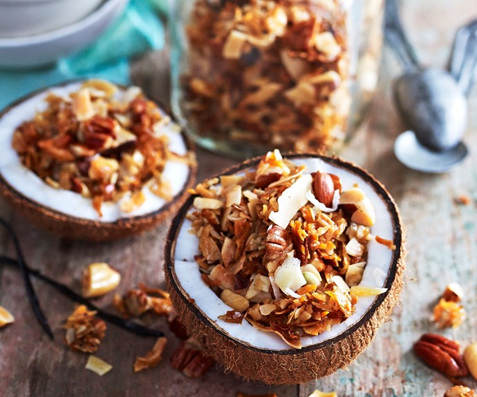 grain free granola recipe