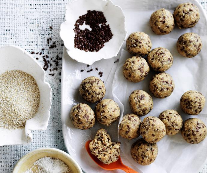 "Looking for healthy, nourishing snack ideas? Try these [no-cook oatmeal balls](https://www.womensweeklyfood.com.au/recipes/no-cook-oatmeal-balls-29068|target=""_blank"") - full of natural, wholesome ingredients and so delicious!"