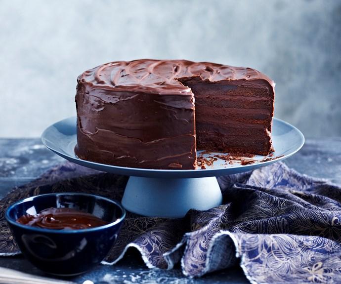 Sugar-free chocolate cake