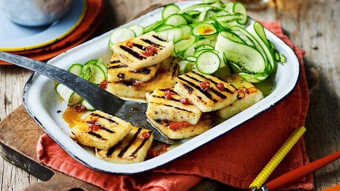 Chilli Haloumi Salad recipe