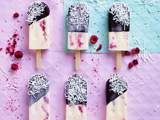 Lamington pops recipe