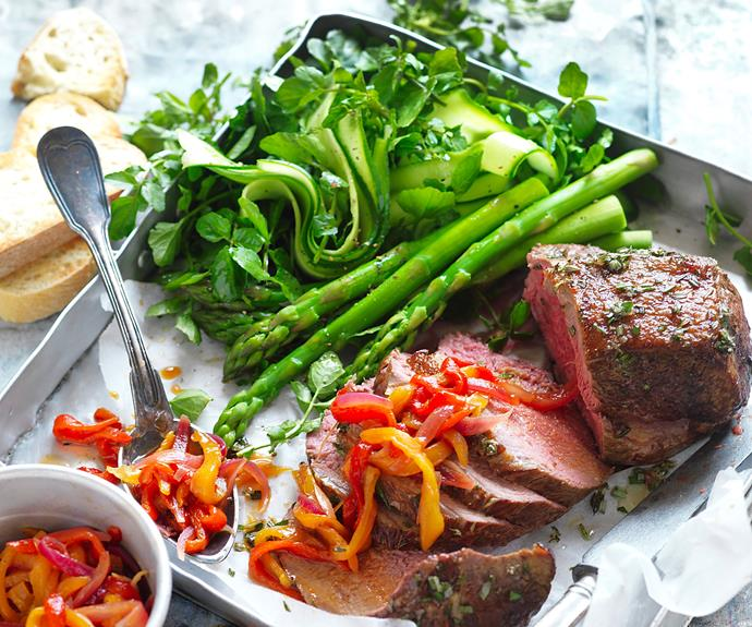 "**[Roast veal with capsicum relish](https://www.womensweeklyfood.com.au/recipes/roast-veal-recipe-31001|target=""_blank"")**  This relish can also be served alongside lightly grilled lean meat, chicken and fish."