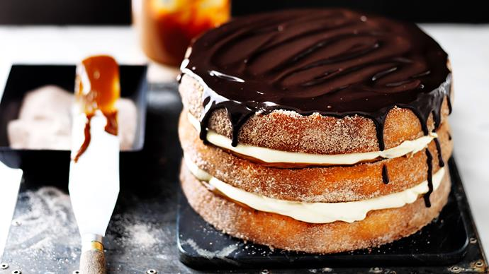 Churros Cake recipe