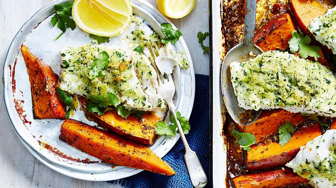 Moroccan fish and chips