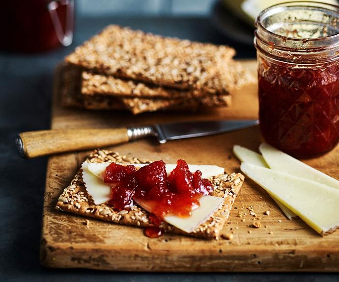 """**[Chunky quince, rosè and vanilla preserve](https://www.womensweeklyfood.com.au/recipes/quince-jam-recipe-31027